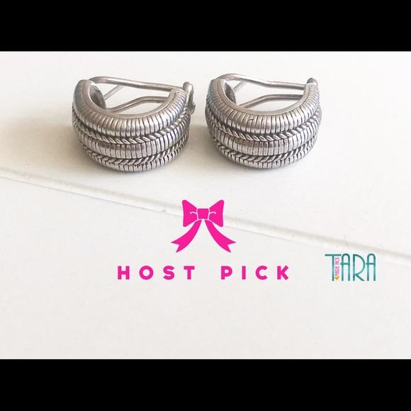 19a260d32 Judith Ripka Jewelry | Sale Hp Sterling Silver Earrings | Poshmark